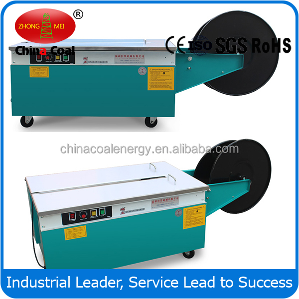 high table Semi Auto Strapping Machines with Double Motor factory price