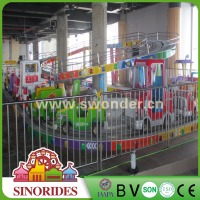 SINORIDES New Kids Amusement Rides Coaster Electric Mini Bus for Sale