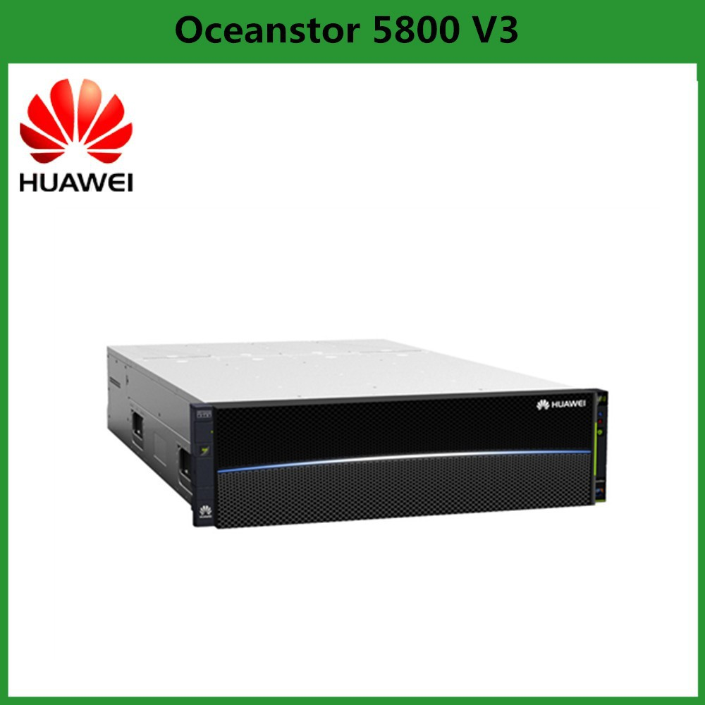 Huawei OceanStor 5800V3 Data Memory Storage Hardware Supporting FC infinaband PCLe SAS interface