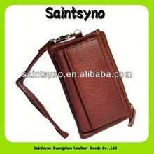 11003 Fancy Leather Coin Purse with Key Holder leather belt chain