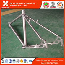 ti-3al2.5v high light road bike titanium frame