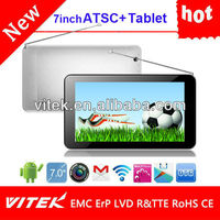 "Hot 7"" Android Dua camera dual core tablet with atsc"