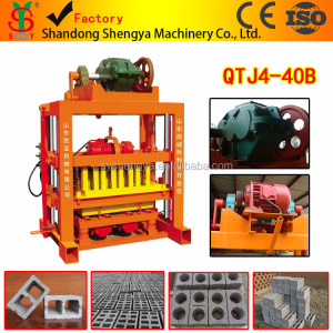 QTJ4-40 Paving Slab Making Machine