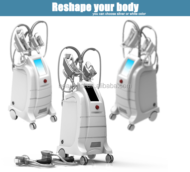 ETG50-4S white color freezefats cool cryolipolysis body sculpting fat freezing machine