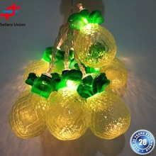New fruit lights led battery Pineapple Party string Lights