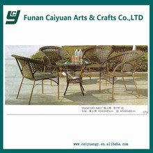 Modern Fashion Dining Room Set Glass Dining Table Set