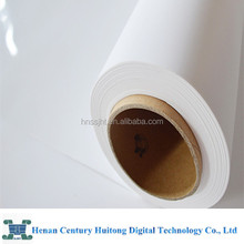 Water proof White pet opaque film for banner stands/poster/roll up