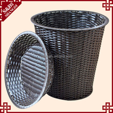 Guangxi manufacturer top quality fruit vegetable display shelf rattan storage rack basket