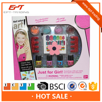 Girl diy beauty cosmetic toys nail art salon kids makeup sets
