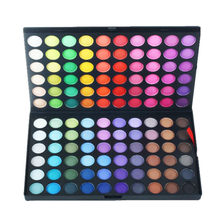 Wholesale Make Your Own Brand Romantic Makeup Eye Shadow Private Label 120 Color Eyeshadow Palette