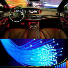 RGB wireless control automotive interior ambient lighting fibre body atmosphere light