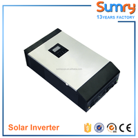 [Sumry] high frequency pure sine wave hybrid solar inverter charger 1000va to 5000va with built in solar charge controller