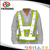 Outdoor warter proof Hi Vis Safety Reflective Luninous Vest /Luminous Jacket