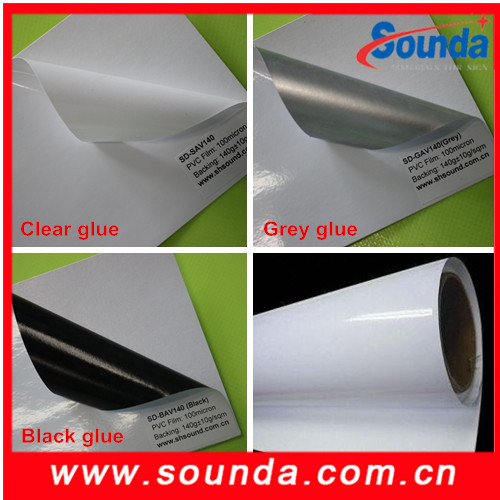 Anti-tearing Fast shipping Amazing discount self adhesive vinyl with CE Certificate used for advertising industry