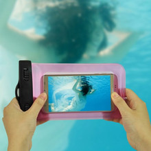 New Sports Waterproof Diving Bag case Cover with strap for smartphone