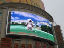 HD P10 rgb big outdoor advertising led screen, led display board advertising IP65 with temp.-20-60 degrees