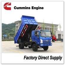 Sitom Cummins 140HP 4x2 dump truck better than jac forland kama