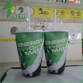 Custom Shape Inflatable Drinking Can , Drinking Bottle for Advertising