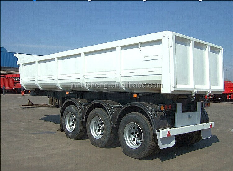 Types Of Tractor Trailers : Large hydraulic type tractor semi dump trailers for
