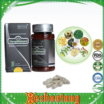 Chinese herbal sleeping pills/capsules for sale