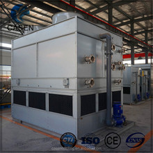 Heat transfer water vending machine closed cooling tower