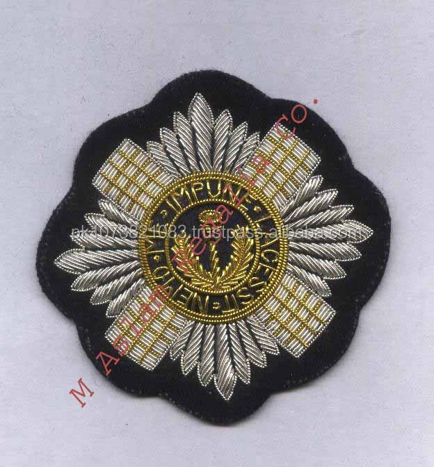 Hand Embroidery Scots Guards Badge