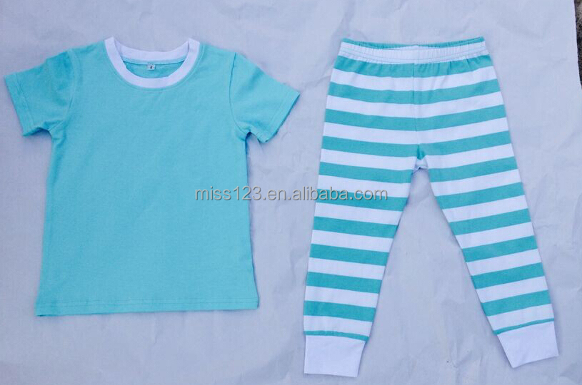 Wholesale Children's christmas Sleeping clothing sets High quality clothes for baby