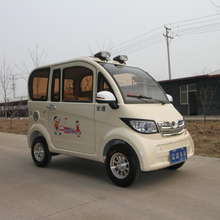 China four wheels three seats cheap new Electric tricycle for adults
