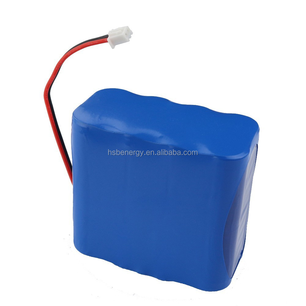 factory price OEM 18650 lithium ion battery pack 7.4V 8800mAh for spotlight, lamp etc