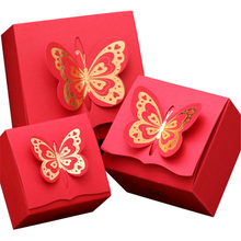 Wedding Gift Card Boxes Sweet Candy Party Favor kraft paper gift box