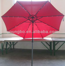 NEW INVENTION SIDE SOLAR PATIO UMBRELLA PASRSOL