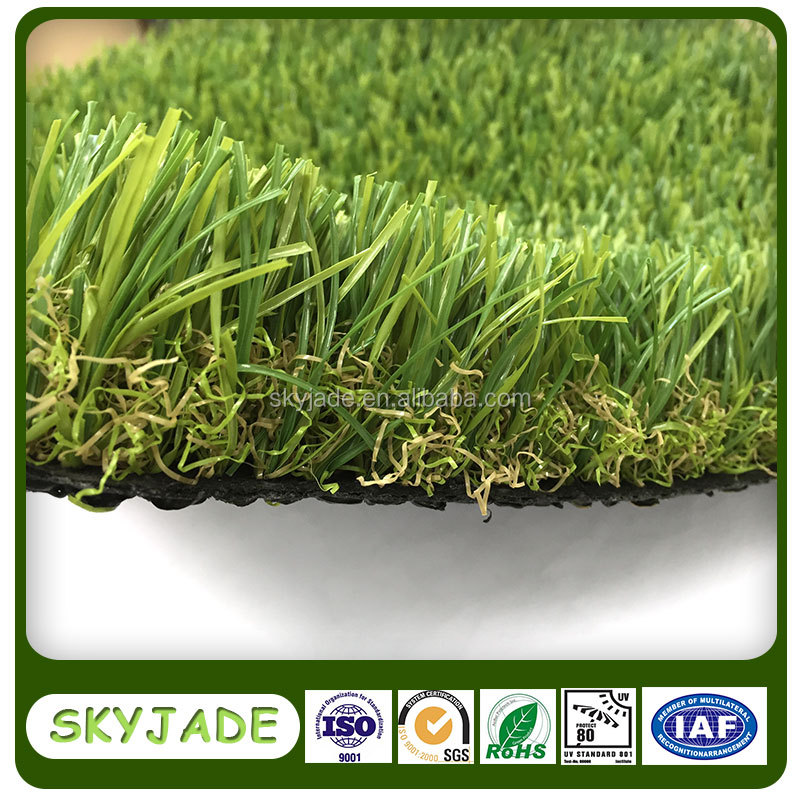 High quality landscaping ornaments artificial green turf