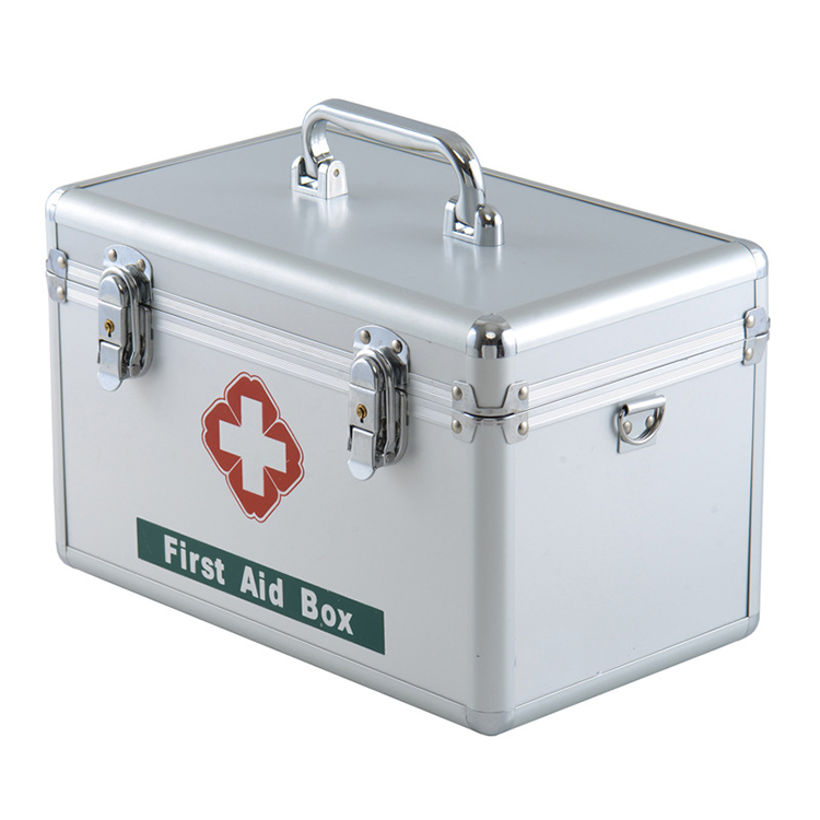Custom aluminum medical first aid kit tackle safety tool box