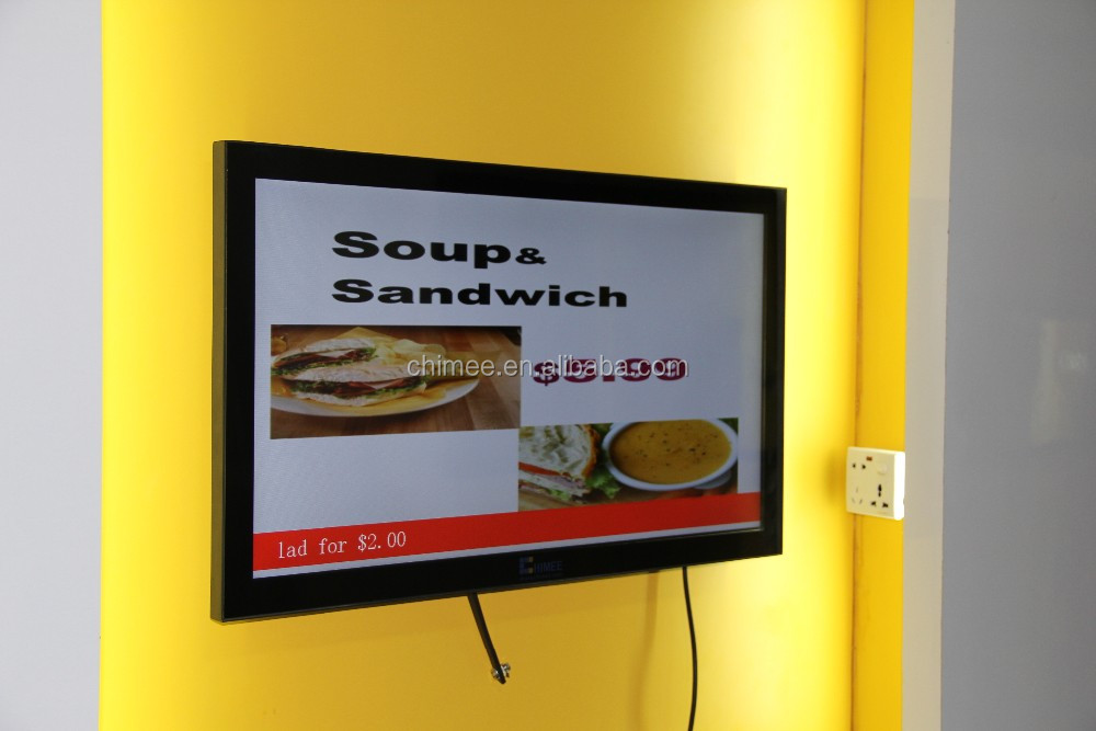 32 inch indoor video advertising screen lcd digital signage product