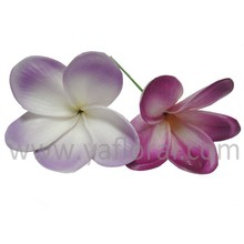 real touch plumeria flowers artificial PU plumeria with fresh touch for sale