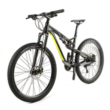 Cool design aluminium Mountain Bike with shinanoXT/M800 gear full Suspension MTB bicycle