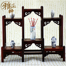 Yazhixuan New Design Rustic & Decorative Antique And Curio Display Cabinet For Home Decoration