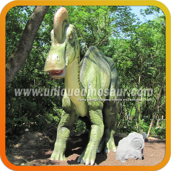 Fiberglass Garden Animal Inflatable Green Dinosaur Cartoon
