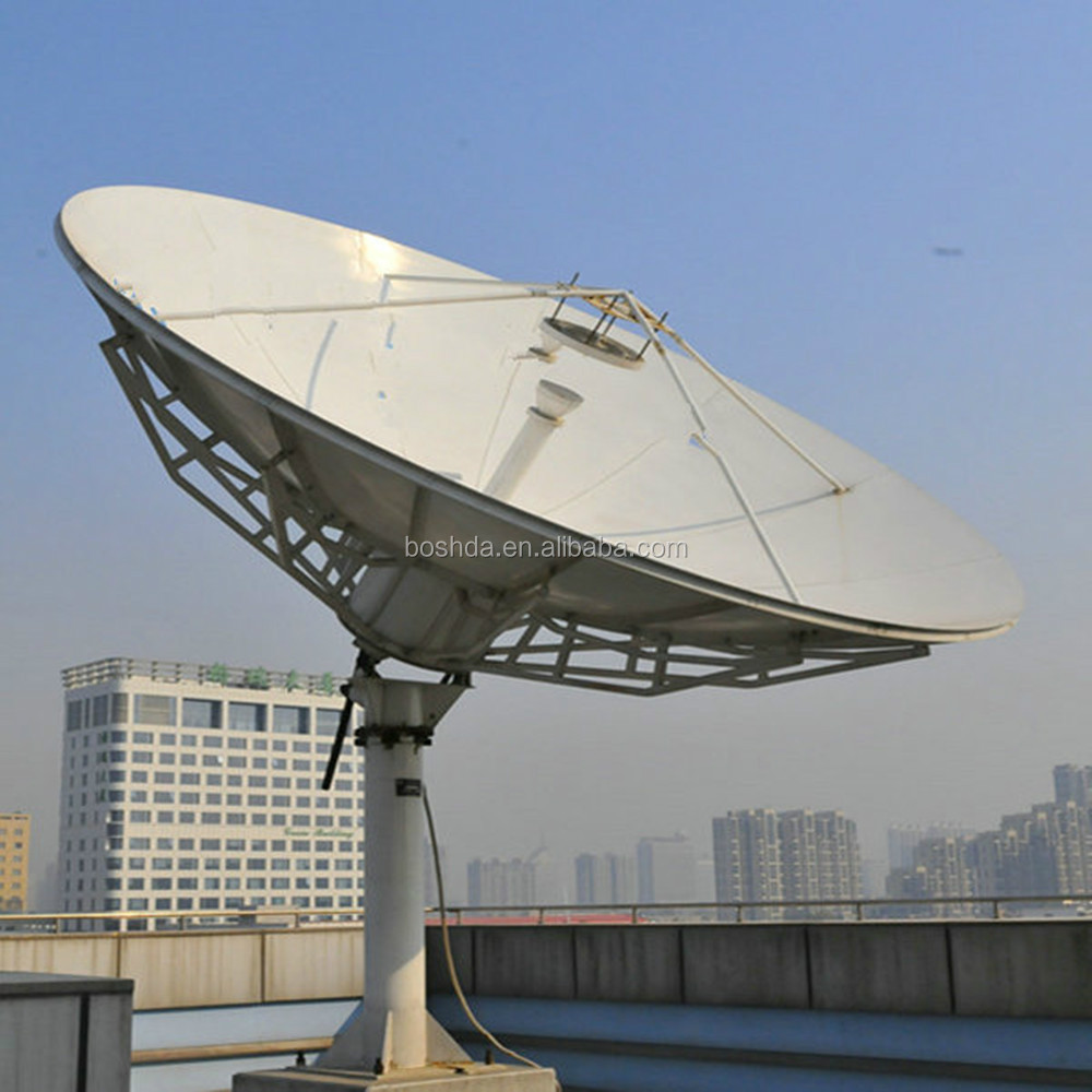 4.5m satellite DISH ANTENNA motorised factory price