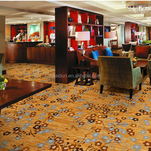 Modern wall to wall Axminster jacquard carpet for hotel