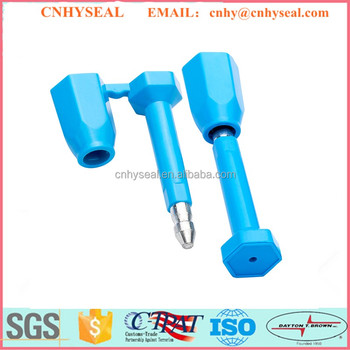 CH122 ISO17712 Plastic Bolt container seal