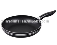 Aluminum fry pan with nostick coating