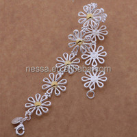 fashion bracelet factory direct sale 925 sterling silver jewelry wholesale NSBR-26025