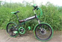 2017 new design hummer folding mountain bicycle/21 speed bikes mtb bike for sale