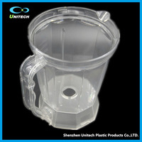 1200 ml Drinking Clear Glass Hot And Cold Water Glass Jug