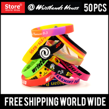 All shape Personalized cheap party wristband | | Attractive party bracelet | Customized cheap silicone party wristband