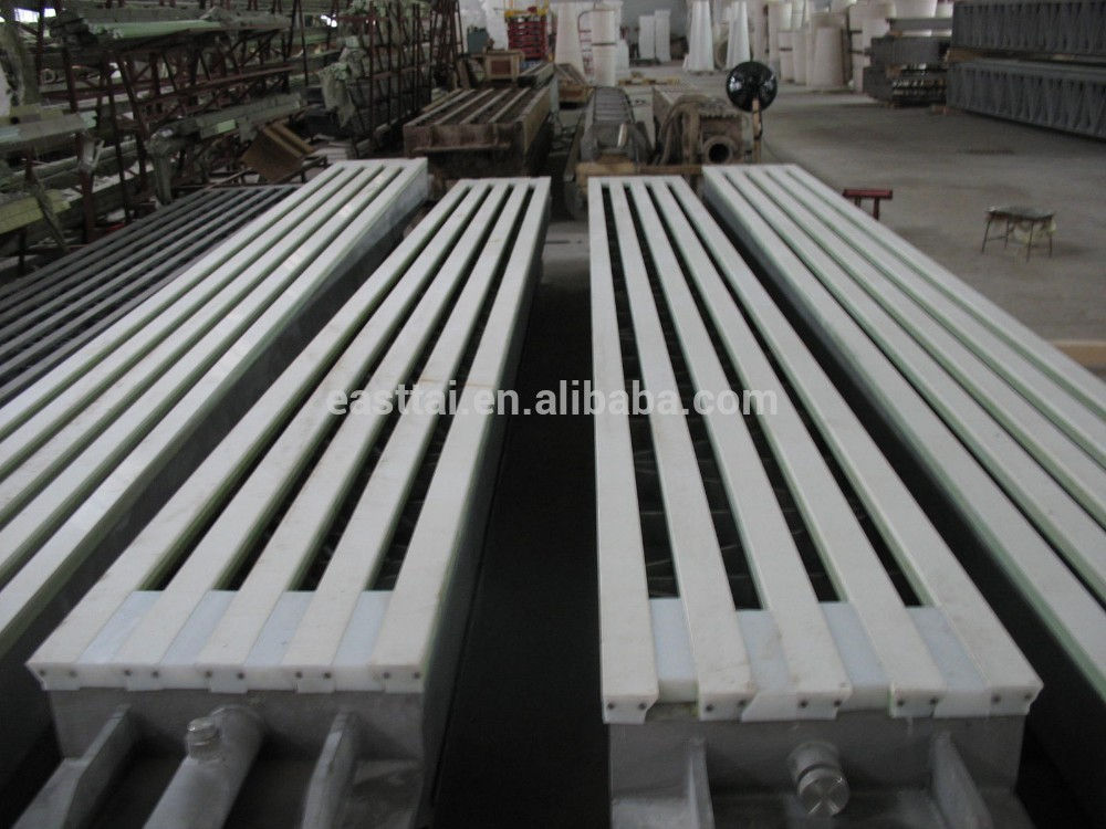 fourdrinier paper machine used Vacuum Ceramic Suction Box Cover for pulping processing