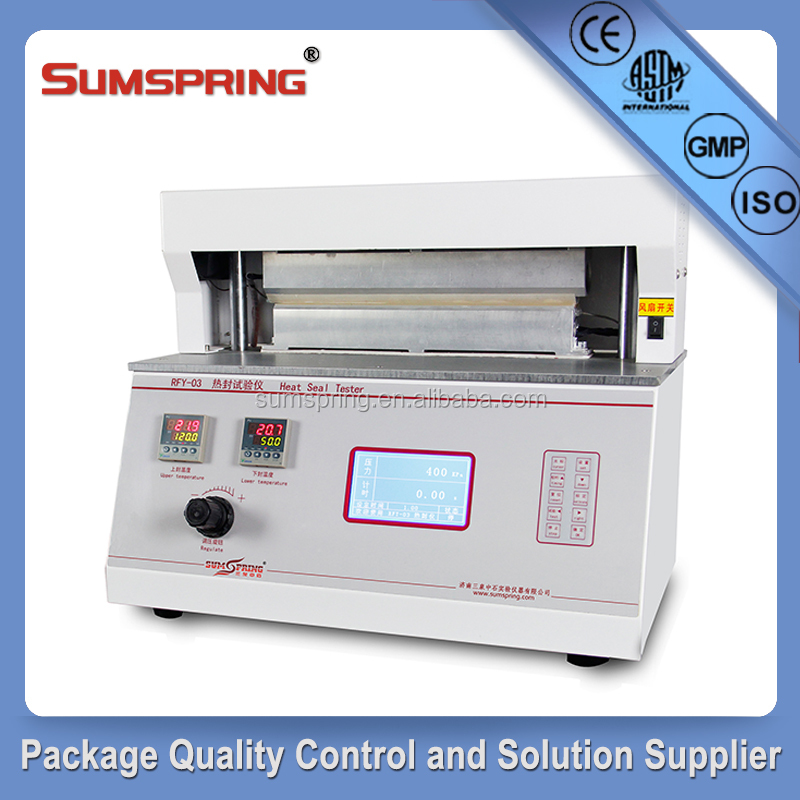 Quality Control Packaging Film and Foil Heat Seal Strength Tester