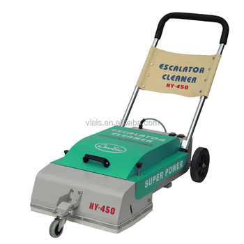 Automatic escalator cleaner for hotel,mall escalator cleaning machine