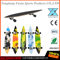 Hot sale Long Board Skateboard 46X8.5'' 7inch truck Maple Longboard